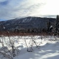 Great views from the side of the trail.- Cabin Creek Nordic Ski Area