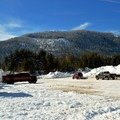 The Parking Lot offers great views.- Crystal Springs Sno-Park Trails