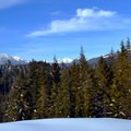 Great views from the Crystal Springs Trails.- Crystal Springs Sno-Park Trails
