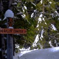 The Roller Coaster Loop lives up to its name- Crystal Springs Sno-Park Trails