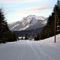 Back to the parking lot.- Hyak Sno-Park Trails