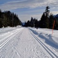 Wide routes are suitable for beginners and make for great workouts.- Hyak Sno-Park Trails