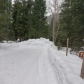 FS-7601 turn out at Icicle Creek.- Eightmile Lake