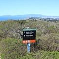 Mori Ridge Trail meets Notch Trail.- Mori Ridge Trail