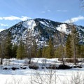 Nice open views from the Icicle River Trails.- Icicle River Trails