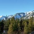 Mountain views from the Ski Hill Trails.- Leavenworth Ski Hill Trails