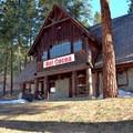 The Ski Hill Trails lodge.- Leavenworth Ski Hill Trails