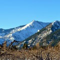 Views at the outset from the Ski Hill Trails.- Leavenworth Ski Hill Trails