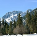 Cascade Mountain views from the Golf Course Trails.- Leavenworth Golf Course Trails