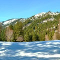 Rolling mountain landscapes on the Golf Course Trails.- Leavenworth Golf Course Trails