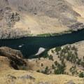 Great views reward short hikes from camp.- Snake River