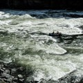 At this flow, starting center left and heading right in Wild Sheep was the better option.- Snake River