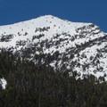 Crosby Mountain (5,576').- Lake Elizabeth Snowshoe