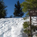 Hex Mountain summer trailhead.- Hex Mountain
