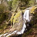 Lower Shellburg Falls.- Shellburg Falls Loop Hike