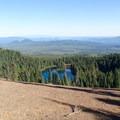 Lake Wapiki viewpoint- Cultus Creek to Lemei Rock