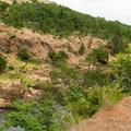 Klickitat River from the Klickitat Trail.- Klickitat Trail, Lyle Trailhead
