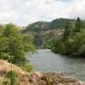 Klickitat River.- Klickitat Trail, Lyle Trailhead