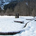 Big Four Picnic Area.- Big Four Ice Caves