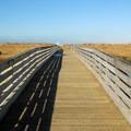 Footbridge at Heath Road in Griffiths-Priday State Park.- Griffiths-Priday State Park