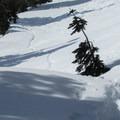 Following the Snow Lake Trail.- Source Lake