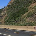Sedimentary rock cliffs of Devils Slide.- Devils Slide Trail