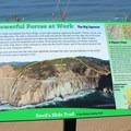 Devils Slide geology.- Devils Slide Trail