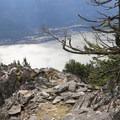 Near the Wind Mountain Summit of 1,907 feet.- Wind Mountain
