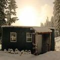 Barlow Butte Hut (4,030').- Barlow Butte Hut