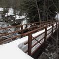 Bridge to the townsite.- Monte Cristo Ghost Town