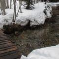 Small creek crossing.- Monte Cristo Ghost Town