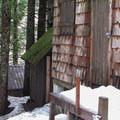 Private cabins at the upper townsite.- Monte Cristo Ghost Town