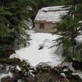 A cabin near the river.- Monte Cristo Ghost Town