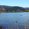 The Columbia from Government Cove.- Cascade Locks Mountain Bike Trails