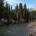 Icicle Creek from the bridge.- Eightmile Creek