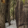 Entering the Alpine Lakes Wilderness.- Chiwaukum Creek