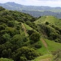Keep following the ridge, and take all left turns.- Briones Regional Park