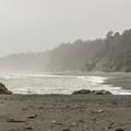 View north on Kalaloch Beach 4.- Kalaloch Beach 4