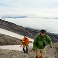 Mount St. Helens Worm Flows Route.- Mount St. Helens Worm Flows Hike