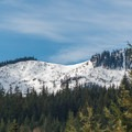 Roaring Ridge from Hyak Sno-Park.- Roaring Ridge