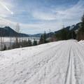 John Wayne Pioneer Trail along Keechelus Lake.- Roaring Ridge