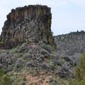 Chimney Rock.- Chimney Rock Trail