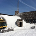 Silcox Hut at the top of Timberline Lodge ski area.- Silcox Hut