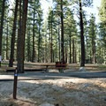 Site 2 with ADA access.- Davis Creek Campground