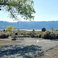 The campground has several ADA-accessible areas with excellent pavement, tables and barbeques.- Washoe Lake State Park Campground