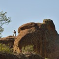 Hiking Moses Spring Trail.- Moses Springs Trail