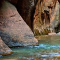 More interesting rock formations on The Narrows.. - The Narrows Hike