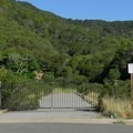 Entrance to the gated community that never was developed.- Novato Hill Climb