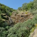 A steep ravine on the Novato Hill Climb.- Novato Hill Climb