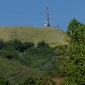 The tower marks the end of your 1,800-foot climb.- Novato Hill Climb